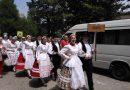 Az Európa Kollégium néptánccsoportja részt vett a Gyöngyösbokrétán